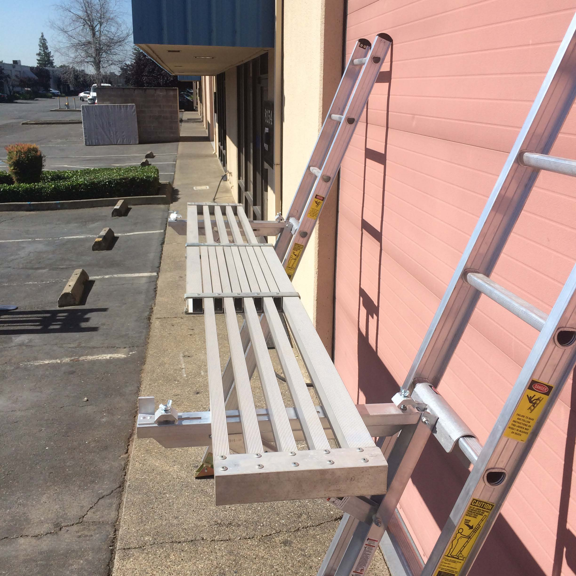 Aluminum Planks And Extension Planks Industrial Ladder