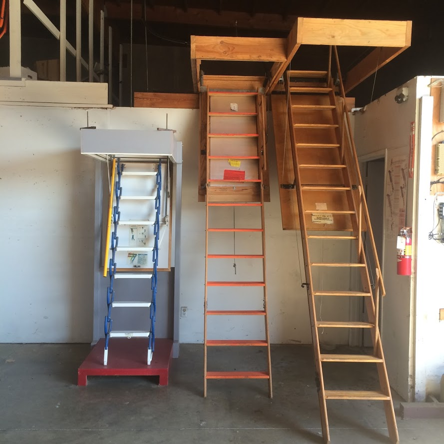 Fire Rated Attic Ladders, One Hour Fire Rated Attic Ladders, Attic Ladders with One Hour Fire Rating, Attic Ladders Sacramento