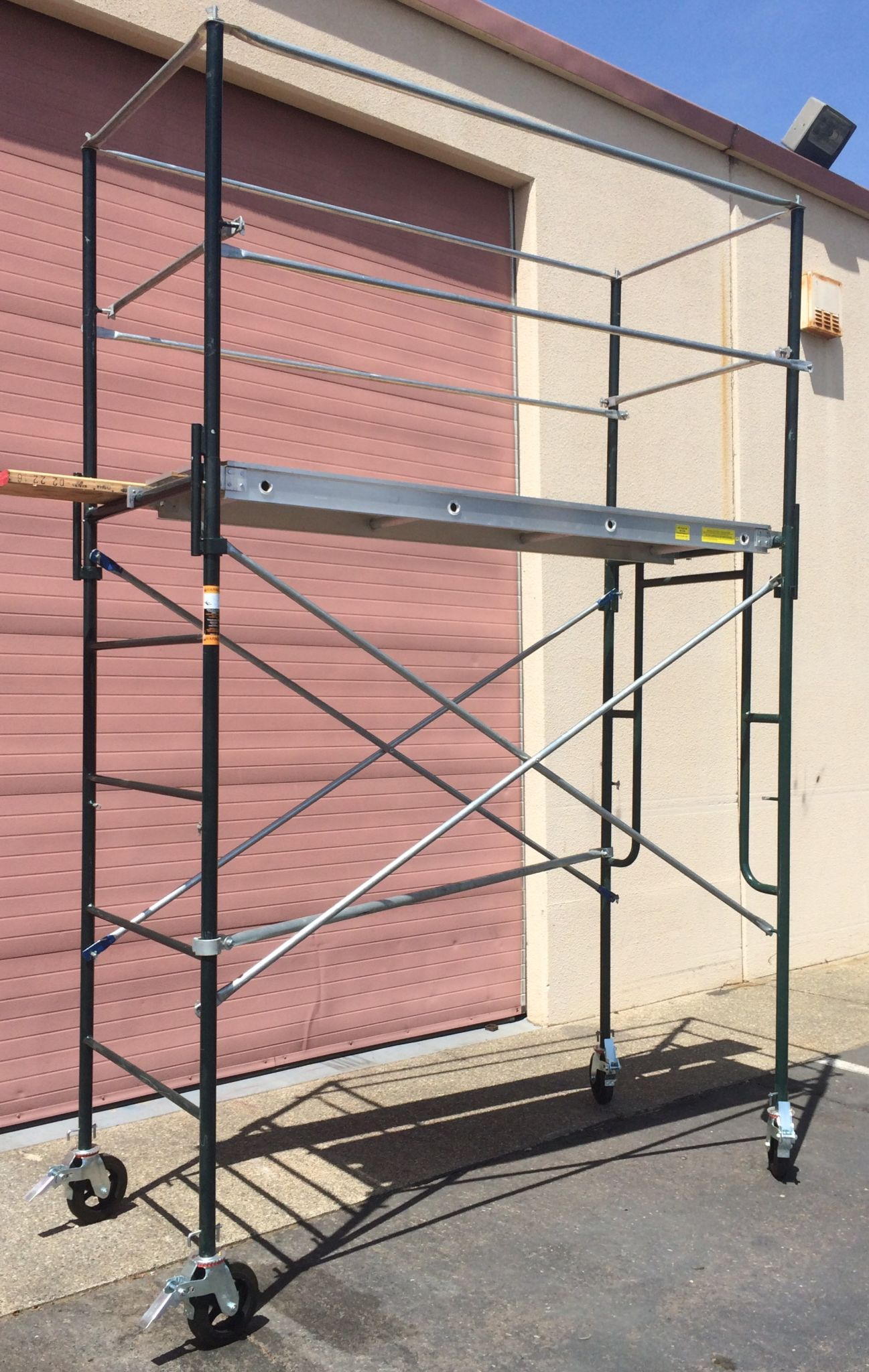 Metal Scaffolding Ladders : Steel scaffolding sacramento san jose and francisco