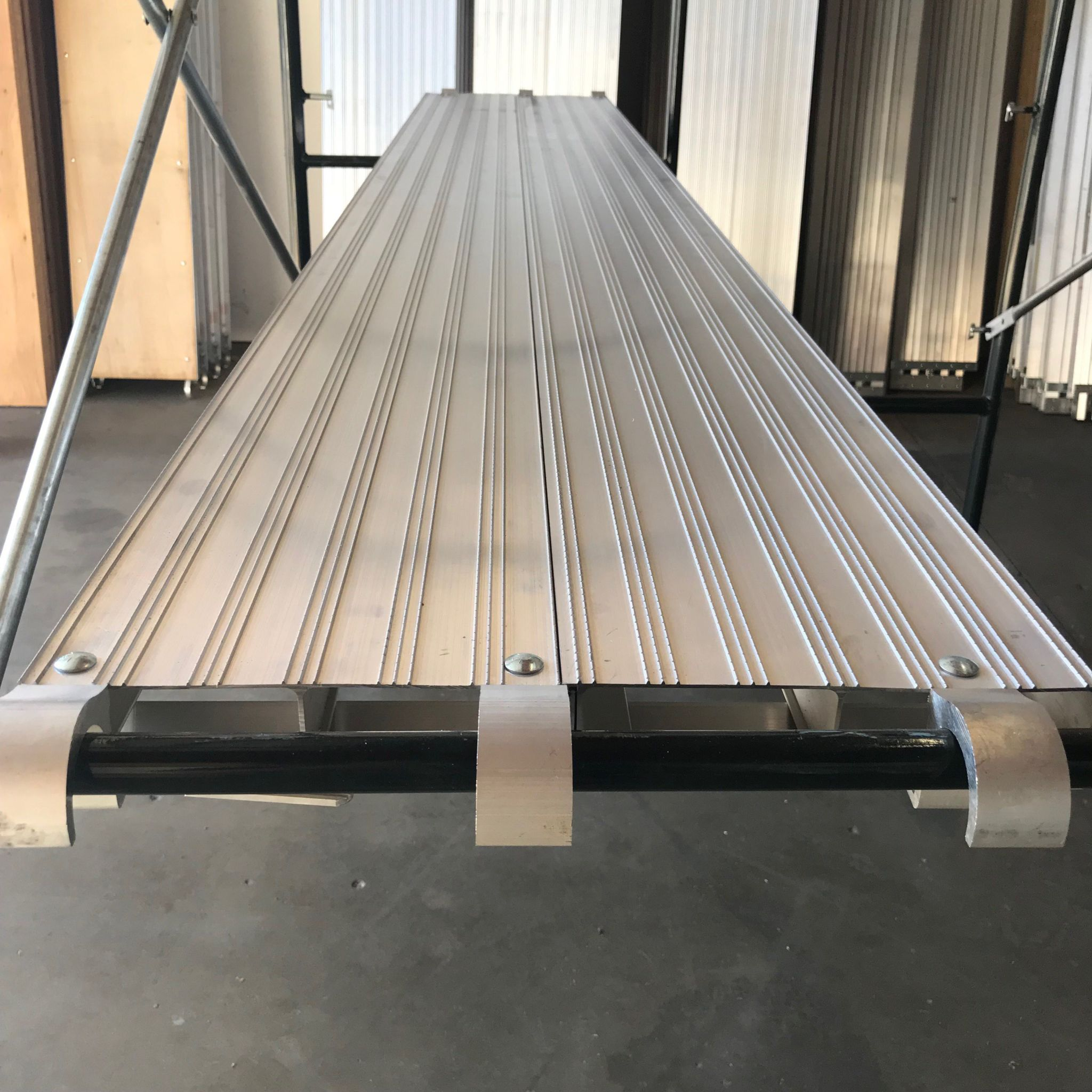 Aluminum Scaffold Boards : Steel scaffolding planks industrial ladder and